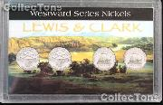 Harris 3x5 Westward Nickel Series PEACE MEDAL&KEELBOAT