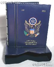 Lighthouse Statehood Quarters P&D Album with Slipcase