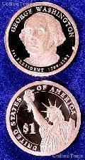 2007-S George Washington Presidential Dollar GEM PROOF Coin