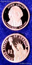 2007-S John Adams Presidential Dollar GEM PROOF Coin