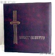 Supersafe Deluxe Mint Sheet Album MA1 Red