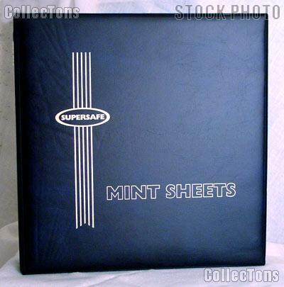 Supersafe Deluxe Mint Sheet Album MA1 Blue