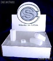 CoinSafe Square Coin Tubes for 40 QUARTERS Box of 100