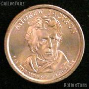 2008-D Andrew Jackson Presidential Dollar GEM BU 2008 Jackson Dollar