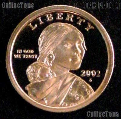2002-S Sacagawea Golden Dollar - Proof