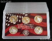 2004-S SILVER State Quarter Proof Set - 5 Coins