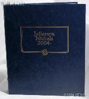 Jefferson Nickels 2004-Date Whitman Classic Album #1973
