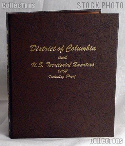 Dansco D.C. & Territory Quarters with Proof Album #8145