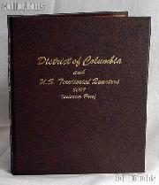 Dansco D.C. & Territory Quarters with Proof Album #8145