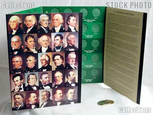 Presidential Dollar Starter Set #2 * Folder & 3 Coins