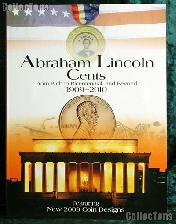 Whitman Abraham Lincoln Cents 1909-2010 Type Set Folder