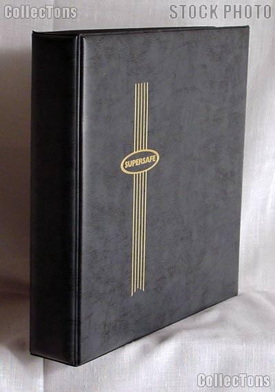 Supersafe Vertical Pocket #10 Cover Album 10CV Black