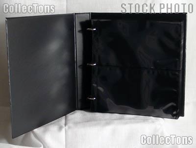 Supersafe Horizontal Pocket #10 Cover Album 10CH Black