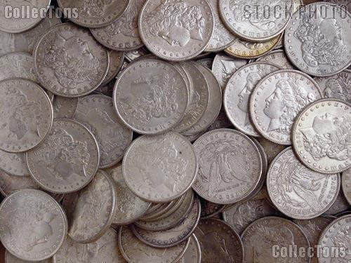 1878-1904 Morgan Silver Dollars - XF+ Condition