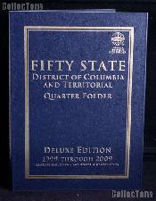 Whitman State, D.C. & Territorial Quarter Deluxe Folder