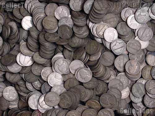 Jefferson Silver War Nickel Rolls - 40 Coins