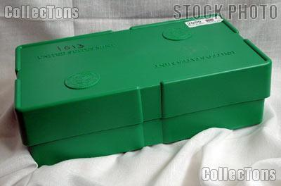 Official U.S. Mint Empty Green Monster Box for Silver Eagle Tubes