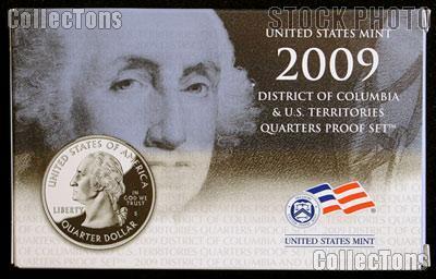 2009 U.S. Mint QUARTER Proof Set OGP Replacement Box and COA