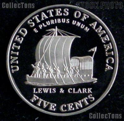 2004 S  PEACE /& KEELBOAT Jefferson PROOF Nickels 2 Coins