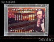 Harris 2x3 Permalock Holder LINCOLN BICENTENNIAL CENTS