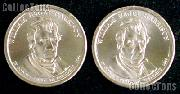 2009 P&D W. H. Harrison Presidential Dollar GEM BU 2009 Harrison Dollars
