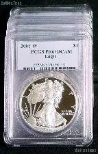 2006-W American Silver Eagle Dollar PROOF in PCGS PR 69 DCAM