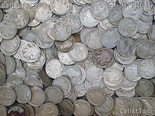 Buffalo Nickel Rolls - 40 Coins