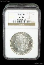 1879-S Morgan Silver Dollar in NGC MS 64