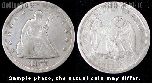 Twenty-Cent Piece 1875-1878