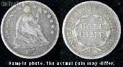 Liberty Seated Half Dime 1837-1859 (V1 or V2)