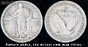 Standing Liberty Quarter 1916-1917 Variety 1