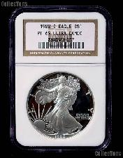 1988-S American Silver Eagle Dollar PROOF in NGC PF 69 ULTRA CAMEO