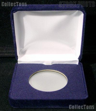 """Blue Velvet Box for 1 Direct Fit """"H"""" Holder"""