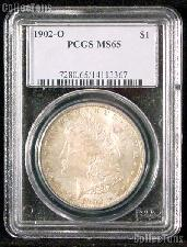1902-O Morgan Silver Dollar in PCGS MS 65