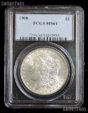 1900 Morgan Silver Dollar in PCGS MS 64