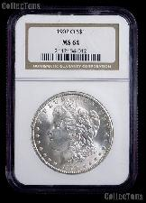 1902-O Morgan Silver Dollar in NGC MS 64