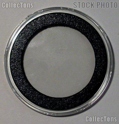 "100 Air-Tite ""I"" Black Ring Coin Holders for 35mm Coins"