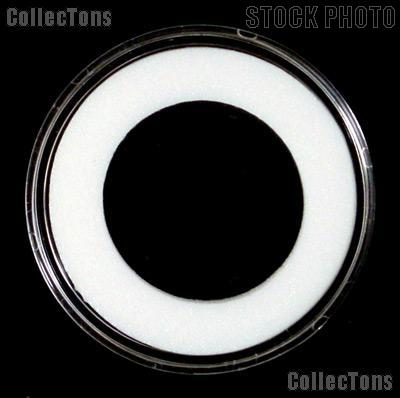 "100 Air-Tite ""H"" White Ring Coin Holders for 30mm Coins HALF DOLLARS"
