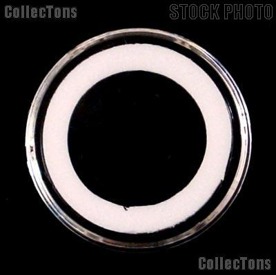 "25 Air-Tite ""A"" White Ring Coin Holders for 18mm Coins DIMES"