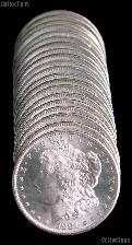 1881-S BU Morgan Silver Dollars from Original Roll