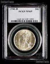 1946-D Walking Liberty Half Dollar in PCGS MS 65