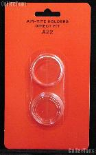 "Air-Tite Coin Capsule Direct Fit ""A22"" Coin Holder 1/4oz GOLD EAGLE"