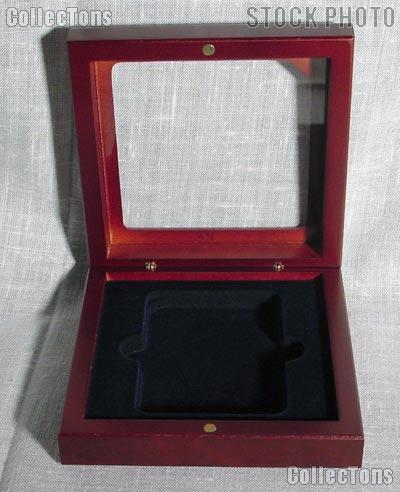 Lighthouse Glass Top Coin Case for 1 Slab Holder