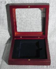 Lighthouse Glass Top Coin Case for 1 Slab Holder