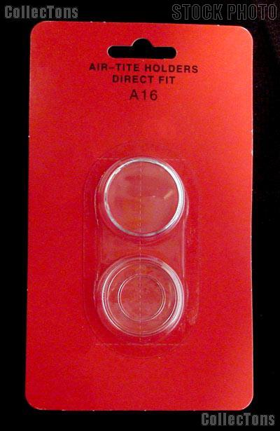 "Air-Tite Coin Capsule Direct Fit ""A16"" Coin Holder 1/10oz GOLD EAGLE"