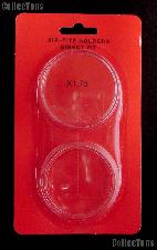 "Air-Tite Coin Capsule Direct Fit ""X1.75"" Coin Holder for MEDALLIONS"