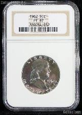 1962 Franklin Proof Silver Half Dollar in NGC PF 67