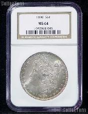 1880 Morgan Silver Dollar in NGC MS 64