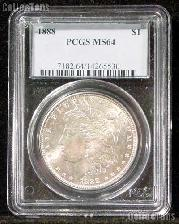 1888 Morgan Silver Dollar in PCGS MS 64