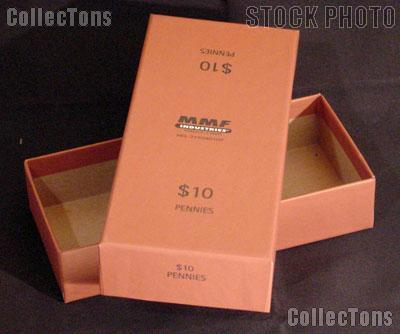 Storage Box for 20 Wrapped Coin Rolls of CENTS